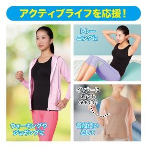 シックスパックシェイプインナー メーカー正規品 コンプレッションインナー 腹筋女子 下腹 加圧 引き締め|idea-info|05