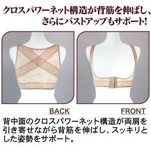 バストアップ 美姿勢 猫背 ドレスアップ姿勢ベルト idea-info 02