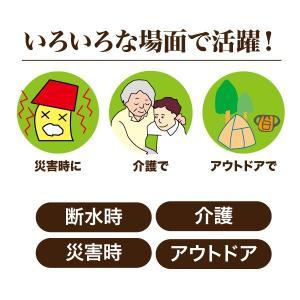災害 介護 アウトドア 消臭成分配合 非常用トイレらくらくお助けボックスセット|idea-info|02