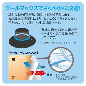 遮熱折りたためるクール日よけ帽子 UVカット率99% 遮熱-4.1℃&-2.9℃ 紫外線対策 クール さわやか快適 母の日|idea-info|03