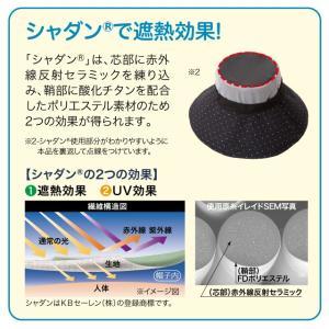 遮熱折りたためるクール日よけ帽子 UVカット率99% 遮熱-4.1℃&-2.9℃ 紫外線対策 クール さわやか快適 母の日|idea-info|04