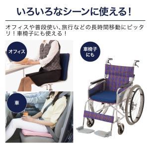 体圧分散 腰 座骨 負担軽減 通気性 耐久性 高反発 クッション 洗える 清潔 車椅子にも メディファイバーシートクッション 母の日|idea-info|06