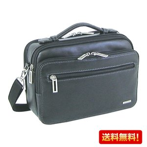 横型ショルダーバッグ SAXON 牛革 05045 セカンドバッグ メンズ かばん カバン 鞄 ギフト プレゼント 誕生日 敬老の日 送料無料|ideal-bag