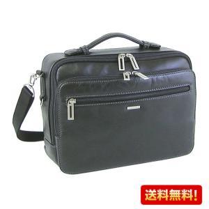 横型ショルダーバッグ SAXON 牛革 05047 セカンドバッグ メンズ かばん カバン 鞄 ギフト プレゼント 誕生日 敬老の日 送料無料|ideal-bag