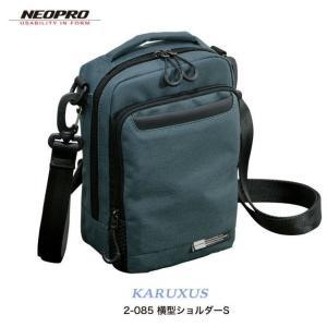 ショルダーバッグ  縦型ショルダーS NEOPRO KARUXUS 2-085 ポケット収納 撥水加工  カジュアル メンズ かばん カバン 鞄 プレゼント ギフト 父の日  送料無料|ideal-bag