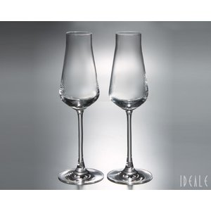バカラ Baccarat シャトーバカラ 2611-149 シャンパンフルート 210ml ペア 2611149|ideale