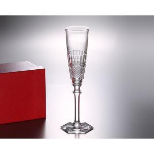 【バカラ ディアマン 2807-170 シャンパンフルート 24.5cm グラス:イデール Yaho...