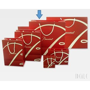 バカラ オリジナル 紙袋 43cmL×42cmH 大サイズ ※同ブランドの商品購入時のみお買い求めいただけます|ideale