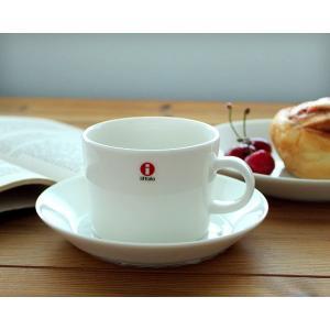 イッタラ iittala ティーマ ホワイト 7253/7248 ティー/コーヒー兼用カップ&ソーサ...
