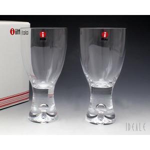 イッタラ iittala タピオ 950048 ホワイトワイン 180cc ペア クリア ideale