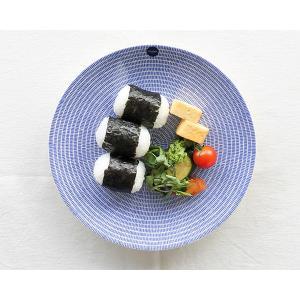 【アラビア 24h Avec(アベック) 8283 プレート 26cm ブルー 耐熱 電子レンジ対応...