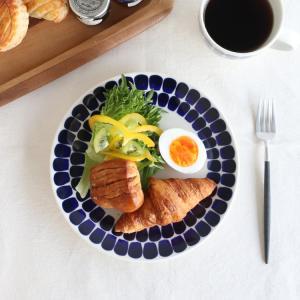 アラビア ARABIA 24h トゥオキオ 8380 プレート/お皿 20cm コバルトブルー|ideale