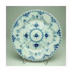 【ロイヤルコペンハーゲン 103 ブルーフルーテッド フルレース 619 プレート19cm お皿:イ...