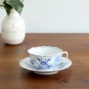 マイセン Meissen ブルーオニオン 800101-633 ティーカップ&ソーサー|ideale