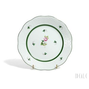 ヘレンド VRH ウィーンのバラ 517/0/00 プレート 19cm