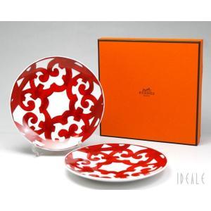 【エルメス(HERMES)  ガダルキヴィール 11212 BBプレート ペア No3 セット お皿...