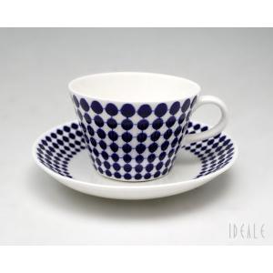 復刻版 グスタフスベリ アダム 491-06 コーヒーカップ&ソーサー GUSTAVSBERG Adam|ideale