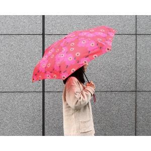 マリメッコ ミニウニッコ 折り畳み傘 レッド marimekko mini UNIKKO 廃番品