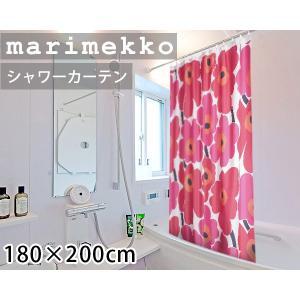 マリメッコ ウニッコ シャワーカーテン 180x200cm ...