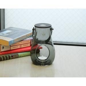 ホルムガード ランタン/デザイン ウィズ ライト スモーク S 16cm Holmegaard DESIGN WITH LIGHT|ideale