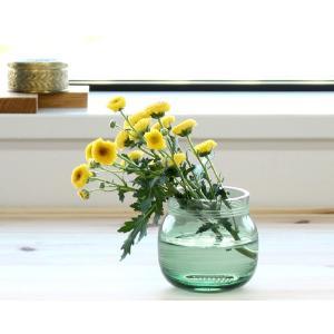 ケーラー オマジオグラス ティーライトホルダー/ベース 75mm グリーン Kahler Omaggio Glass|ideale