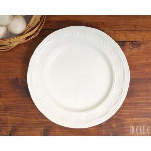ジアン ポントシューカラー 1151 デザートプレート22.5cm ホワイト