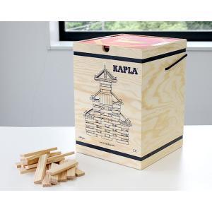 カプラ KAPLAブロック 280 アートブック 赤(中級レベル 6才〜) 積木|ideale