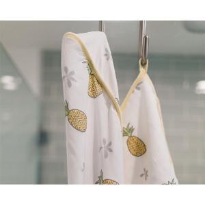 """ココムーン フード付タオルセット パイナップル Coco Moon Hooded Towel Set  """"Pinapple of My Eye"""" ideale"""