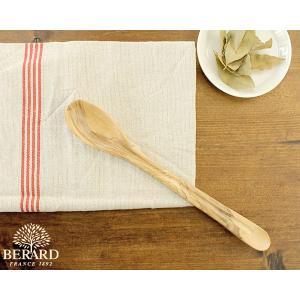 ベラール テイスティングスプーン 25cm オリーブウッド BERARDの商品画像|ナビ