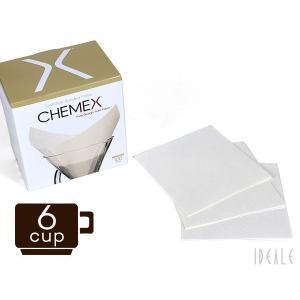 ケメックス CHEMEX 専用フィルターペーパー FS-100 6カップ用 100枚入り|ideale