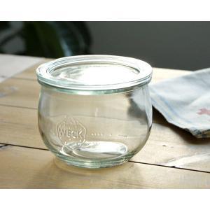 ウェック WECK チューリップシェイプ WE744 ガラスキャニスター 500ml 直径Lサイズ ideale