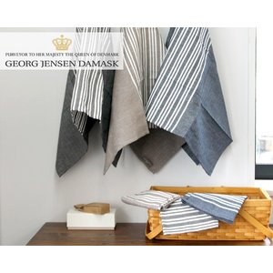 ジョージ・ジェンセン・ダマスク ホリゾンタル ティータオル/キッチンタオル 全3色 Georg Jensen Damask HORIZONTAL [ネコポス対応可(2枚まで)]|ideale