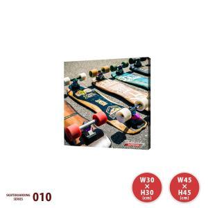 おしゃれなスケートボードのファブリックパネル SKATE010 ENLINKSコラボ|ideamaker