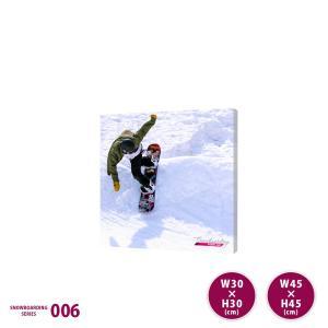 インテリア 雑貨 ファブリックパネル アートパネル おしゃれ 雪 スノーボード|ideamaker