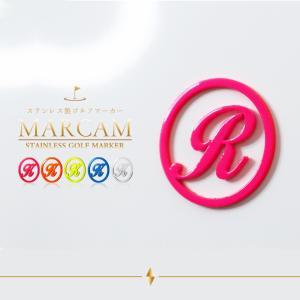 【golfmarker03】ゴルフマーカー MARCAM マーカム ボールマーカー 名入れ おしゃれ 柄 デザイン プレゼント コンペ 景品 父の日|ideamaker