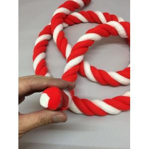 紅白ロープ(紅白紐)太さ24mm (m単位で切り売り)アクリル製|ideashopshowa|05