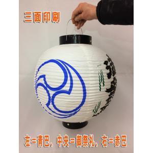 祭礼提灯(13号丸)3面印刷 ビニール製|ideashopshowa|03