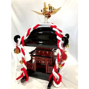 子供神輿 木製の本格的な神輿 軽くて丈夫 (K-1型)  別途送料|ideashopshowa