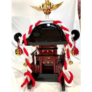 子供神輿 木製の本格的な神輿 軽くて丈夫 (K-1型)  別途送料|ideashopshowa|04