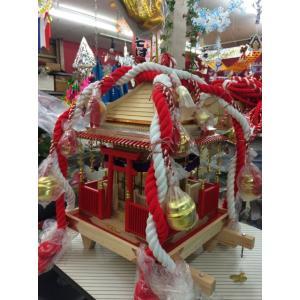 幼児用神輿 白木神輿 木製の本格的な神輿 軽くて丈夫 (幼児用) 別途送料|ideashopshowa|04