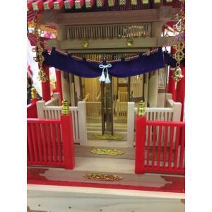 幼児用神輿 白木神輿 木製の本格的な神輿 軽くて丈夫 (幼児用) 別途送料|ideashopshowa|05