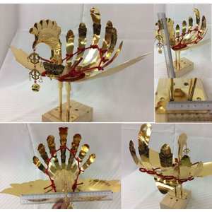 金属製鳳凰(並) 神輿用大鳥 総手作り お神輿の装飾に|ideashopshowa|02