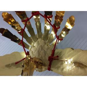 金属製鳳凰(並) 神輿用大鳥 総手作り お神輿の装飾に|ideashopshowa|04