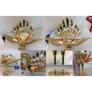 金属製鳳凰(上) 神輿用大鳥 総手作り お神輿の装飾に |ideashopshowa|02