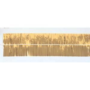 金モール(2枚入り) メッキモール(金色) 太さ約10cm×長さ約1.8m|ideashopshowa