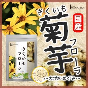 菊芋 サプリメント きくいもフローラ90粒 イヌリン サプリ 菊いも キクイモ 国産 ideastore
