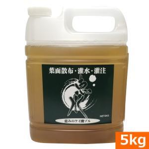 吸収率の高いケイ酸ゾル『恵水(けいすい)5kg』|ideshokai