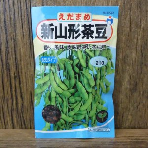新山形茶豆(えだまめ)(種:ウタネ) ideshokai