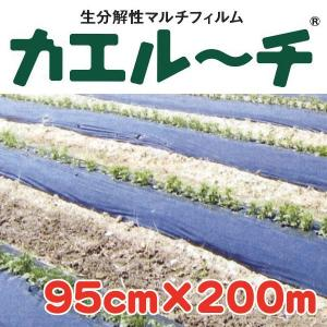 (送料無料) カエルーチ 0.018x95x200 (農業用マルチ)|ideshokai