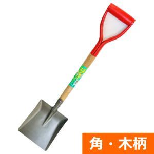 (送料無料)  トンボ印 ショベル(角・木柄)|ideshokai